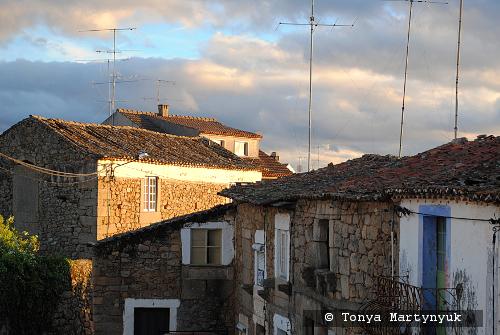 27 - провинция Португалии - маленькие города, посёлки, деревушки округа Каштелу Бранку