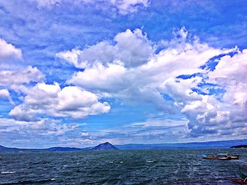 lake volcano view taalvolcano taallake
