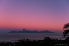 Pink Morning in Tahiti...