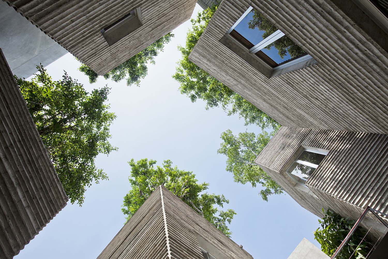 House for Trees design by Vo Trong Nghia Architects