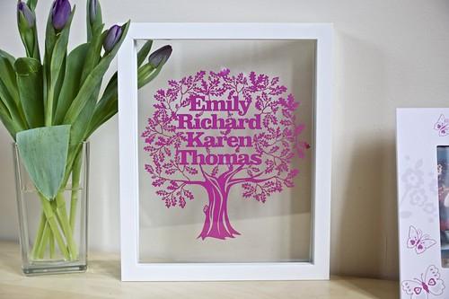 Papercut-Family-Tree