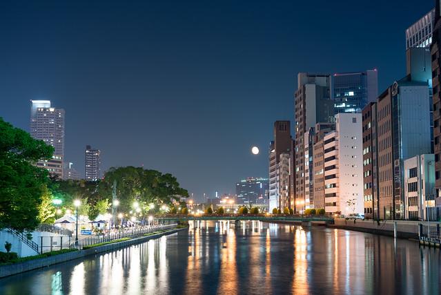 淀屋橋からの夜景
