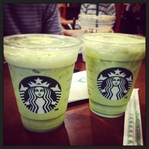 Starbucks matcha latte