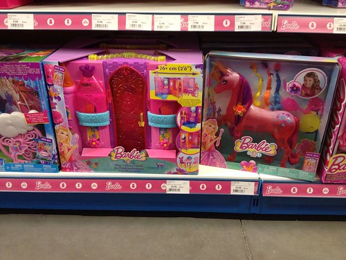 Barbie and the secret door castle and unicorn
