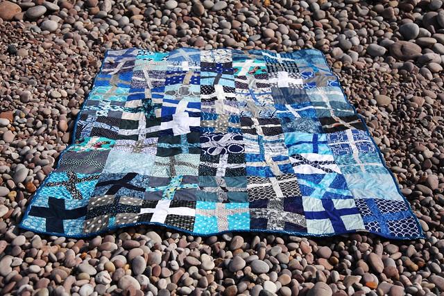 Wonky Cross quilt 1