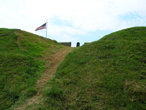 Fort Stevens earthworks