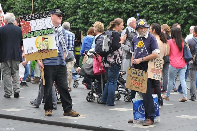 Gaza Protest, Dublin [19.07.14]