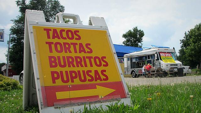 Tacos Y Pupusas Las Palmas Truck in Des Moines, Iowa