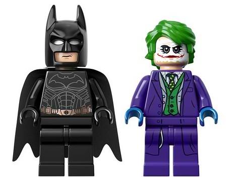 LEGO Batman Tumbler (76023) Minifigures