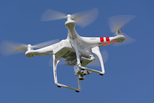 Drone similar al usado por Ariel Holan