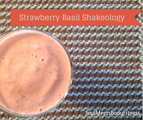 Strawberry Basil Shakeology Recipe
