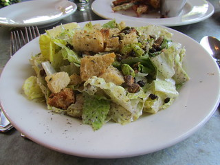 Caesar Salad at Cafe Flora