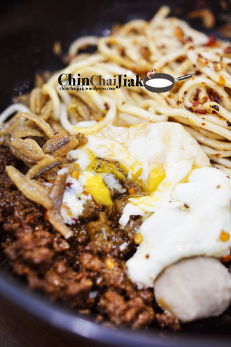 kin kin chilli pan mee