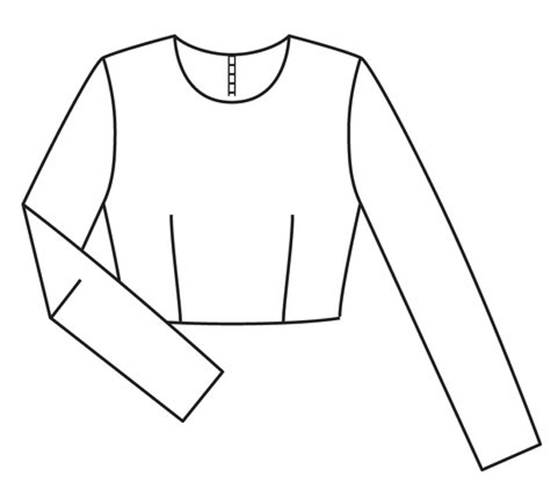 7 basic bodice and sleeve sloper