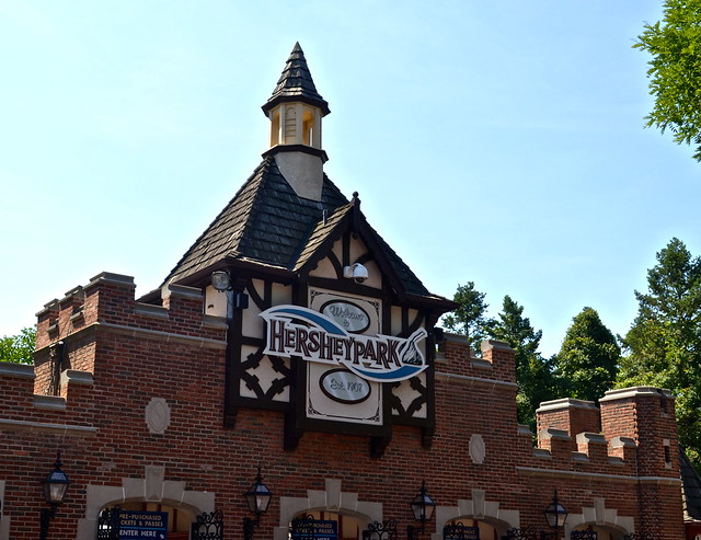 main building - Hershey Park PA USA