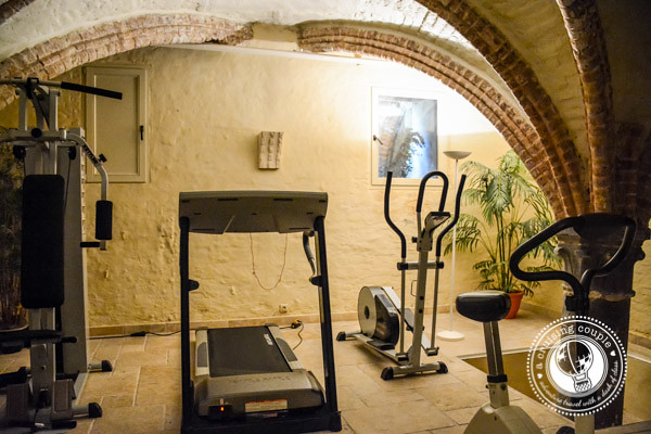 Workout Room Hotel Heritage Bruges Belgium