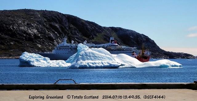 Boudicca, Nanortalik, iceberg