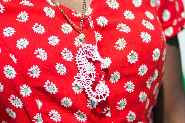 Tatty Devine seahorse necklace