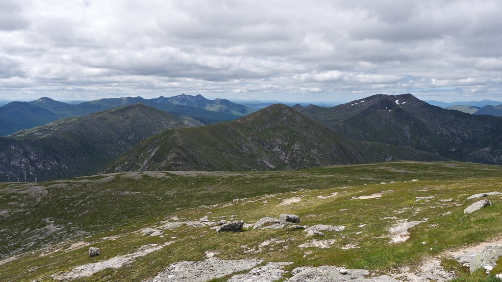 View west from Stob Coir'an Albannaich
