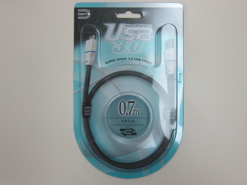 Daiyo Micro B Cable - Packaging Front