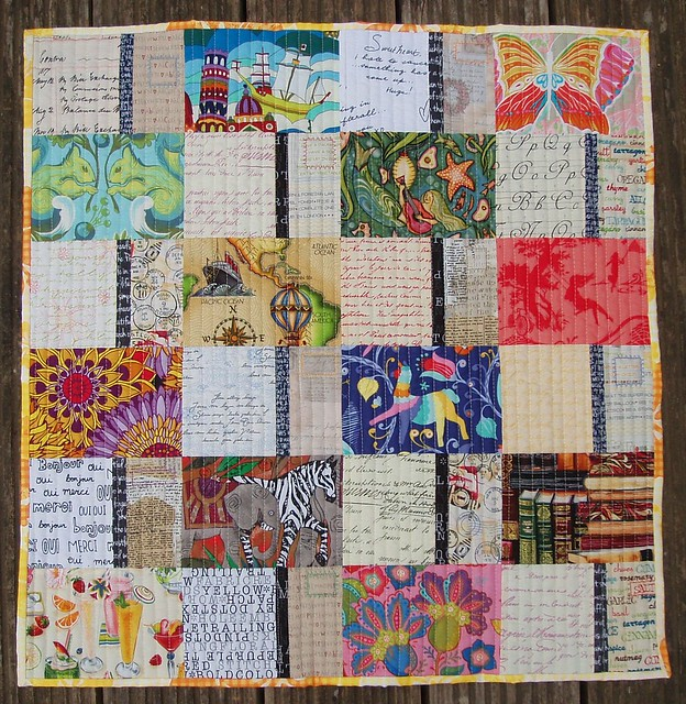The Postcard Quilt Along