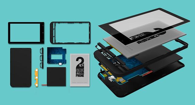 OAXIS 手機第二屏 InkCase Plus 登 陸 KickStarteR 開始眾籌 @3C 達人廖阿輝