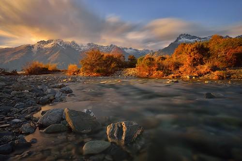 newzealand mountain creek river stream queenstown wakatipu wilsonbay 12thmiledelta