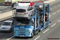 Volvo FM 400 6x2 Car Transporter - X6 ECM - ECM - M1 J10 Luton - Steven Gray - IMG_9071