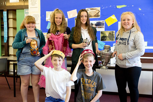 Secondary School pupils take part in Language Activity Day