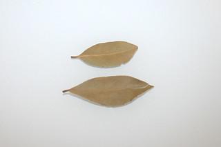 13 - Zutat Lorbeerblätter / Ingredient bay leaves