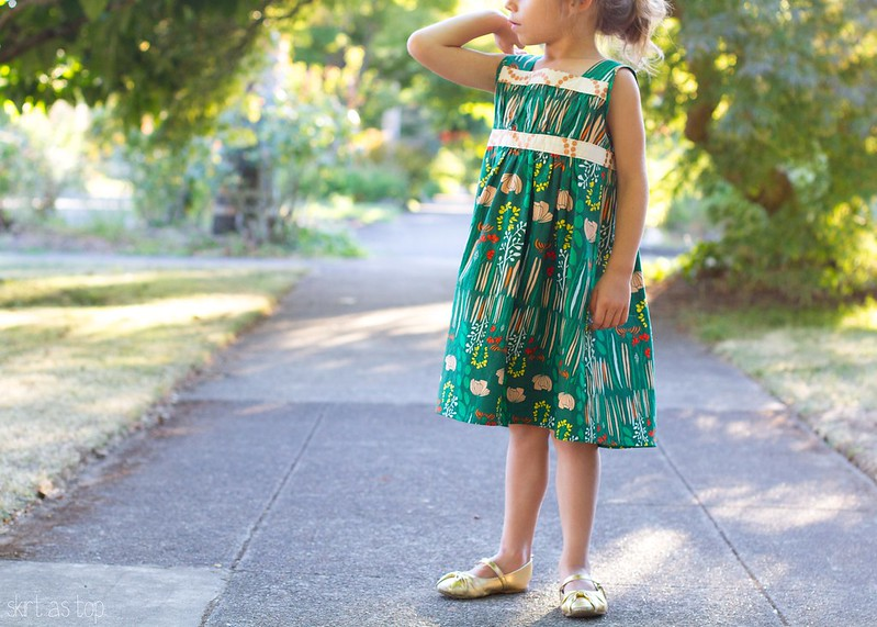 summer grove garden party dress