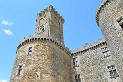 Chateau de Montbrun side view