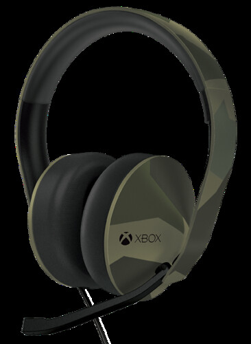 Xbox One Armed Forces Stereo Headset 01