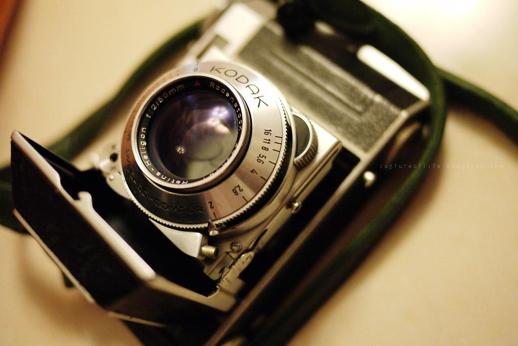 Rodenstock Heligon 50/2 on Kodak Retina IIa