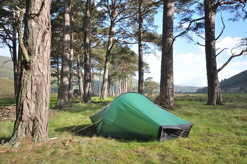 Camp Glen Feshie