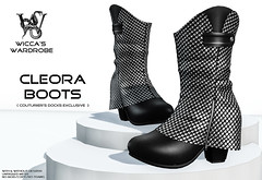 "Wicca\'s Wardrobe - ""Cleora Boots"" [Couturiers Docks Exclusive Release July 2014]"