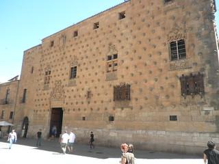 Casa de las Conchas, fachada