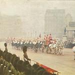 Oliver Cromwell 的形象. uk london scaffolding parliamentsquare metropolitan 1953 palaceofwestminster westminsterhall footguards stateopeningofparliament ststephensentrance stmargaretstreet canonrow sovereignsescort cannonrow statueofolivercromwell
