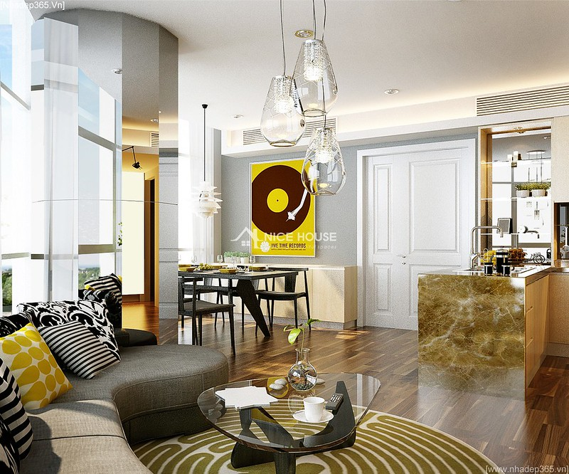 Thiết kế nội thất căn hộ Euro MultiComplex Arpatment_4