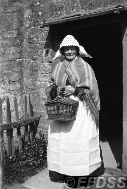 Susan Williams (1832-1915), Haselbury Plucknett, Somerset. Photograph by Cecil Sharp. copyright EFDSS.