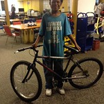 Tyree finished his bike!!