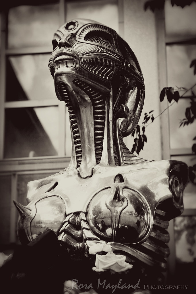 Giger's Biomechanoid Statue - Chur, Switzerland