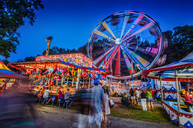 Saratoga County Fair-is Wheel