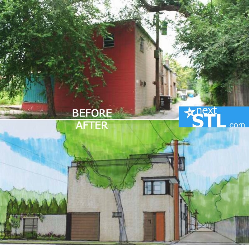 4066 Russell BEFORE AFTER
