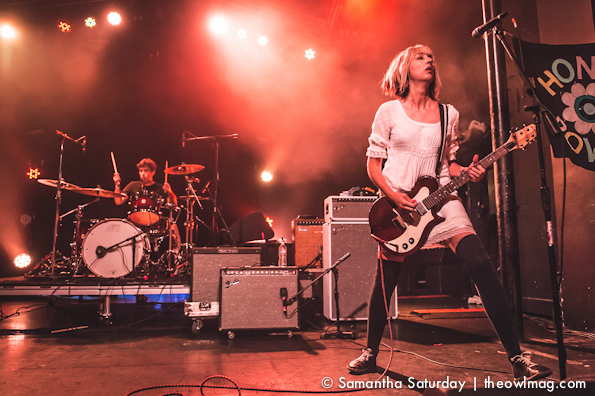 The Muffs @ Burger A Go Go, Observatory, Santa Ana 8/2/14
