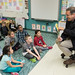 """In honor of Dr. Seuss' birthday and national Read Across America Day, State Representative John Fusco read two Seuss books to Monique Reynolds' 2nd grade class at South End School.  Rep. Fusco read """"I Can Read With My Eyes Closed"""" and the classic """"And To Think That I Saw It On Mulberry Street."""""""
