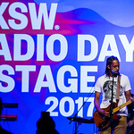Fri, 17/03/2017 - 5:32pm - Black Joe Lewis and the Honeybears Live at SXSW Radio Day Stage Powered by VuHaus 3.17.17 photographer: Sarah Burns