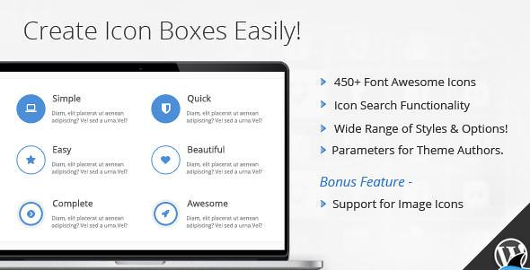 Icon Box for Visual Composer wordpress plugin free download