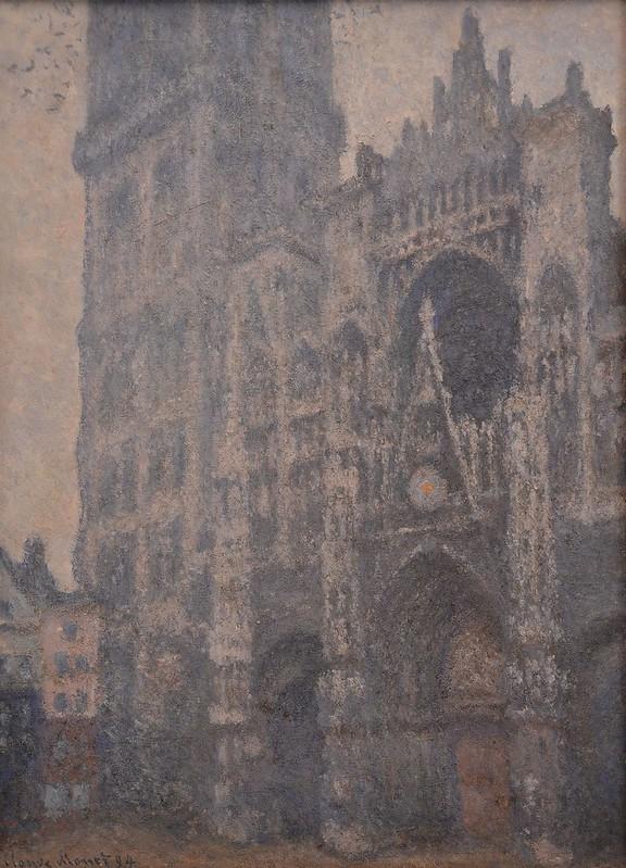 """Rouen (Seine-Maritime) - Musée des Beaux-Arts - """"Portrait de la Cathédrale de Rouen, temps gris - 1894"""" (Claude Monet, 1840-1926)"""
