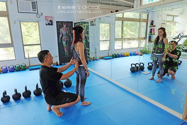 台南康體運動空間檢查姿勢1